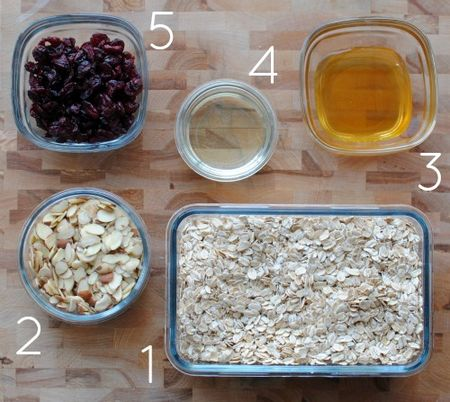 5 Ingredient Granola