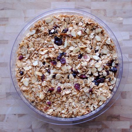 5 Ingredient Granola - Grace and Light