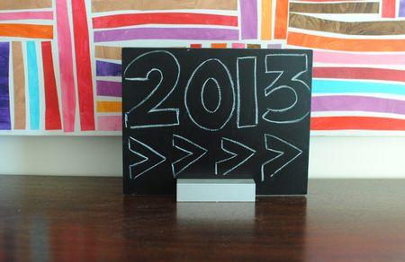 2013 chalkboard modern