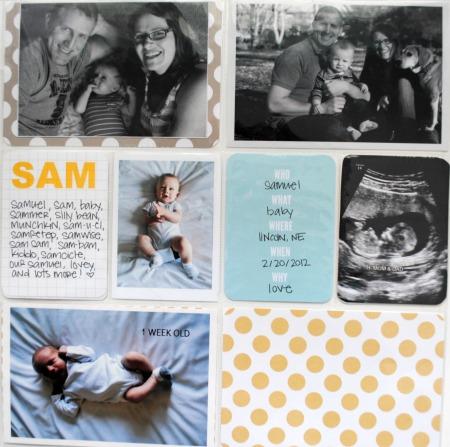 Sam baby book 1