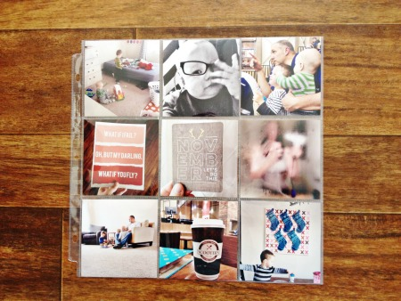 Diy instagram photo printing using project life phone app