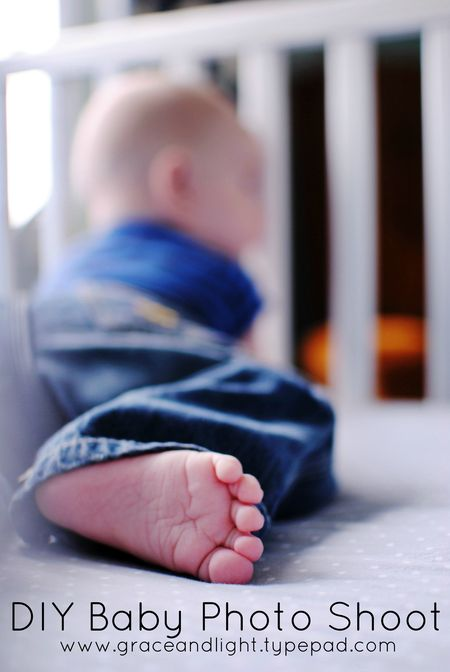 DIY Baby Photo Shoot Photography