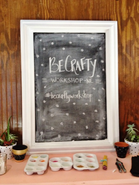 Be crafty workshop - grace and light