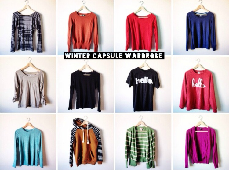 Winter capsule wardrobe 2015