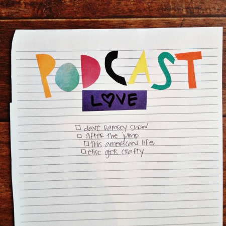 30 days of lists - favorite podcasts