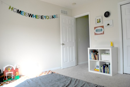 Home is where you are kids room